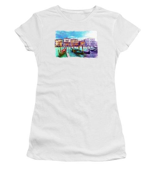 Venice Women's T-Shirt (Junior Cut) by Marian Voicu