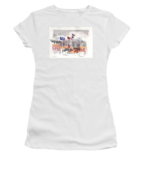 Veteran's Memorial Park Women's T-Shirt (Athletic Fit)