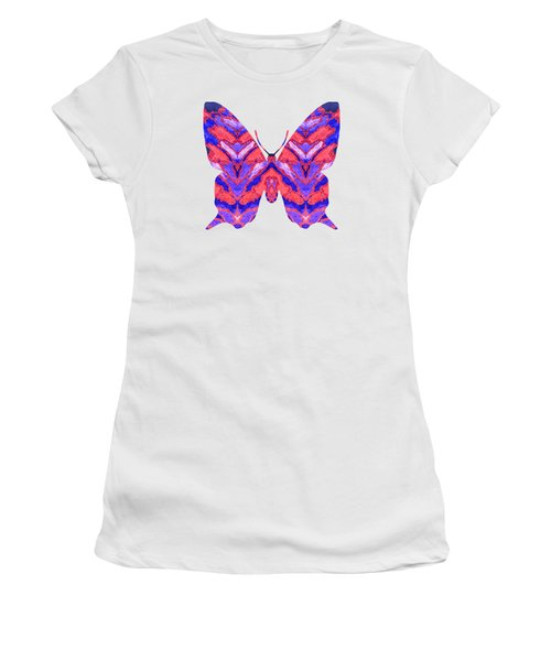 Vibrant Butterfly  Women's T-Shirt (Athletic Fit)