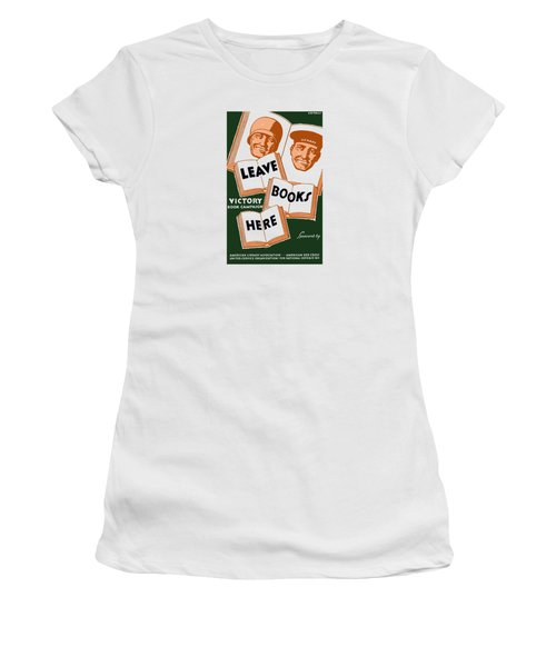 Victory Book Campaign - Wpa Women's T-Shirt