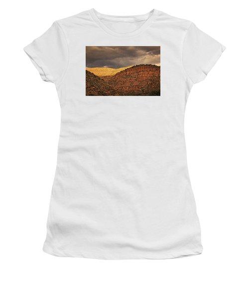 View From A Train Txt Women's T-Shirt