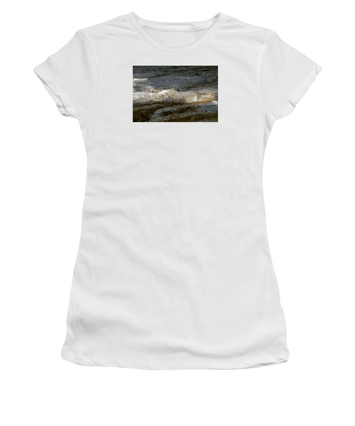 View From Masada Women's T-Shirt (Junior Cut) by Dubi Roman