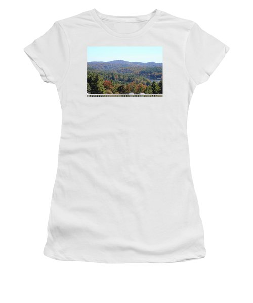 View From Moses Cone 2014c Women's T-Shirt (Athletic Fit)