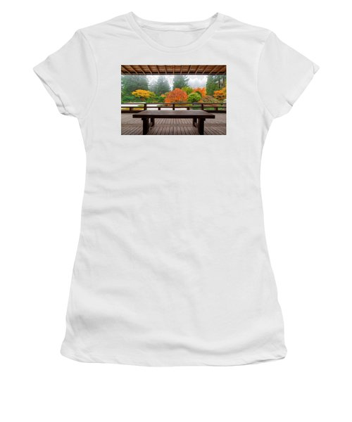 View From The Pavilion Women's T-Shirt (Athletic Fit)