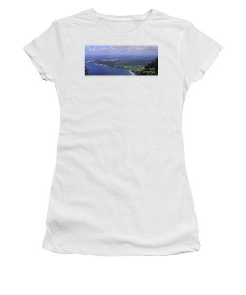 View Of Kaulapapa Women's T-Shirt (Athletic Fit)