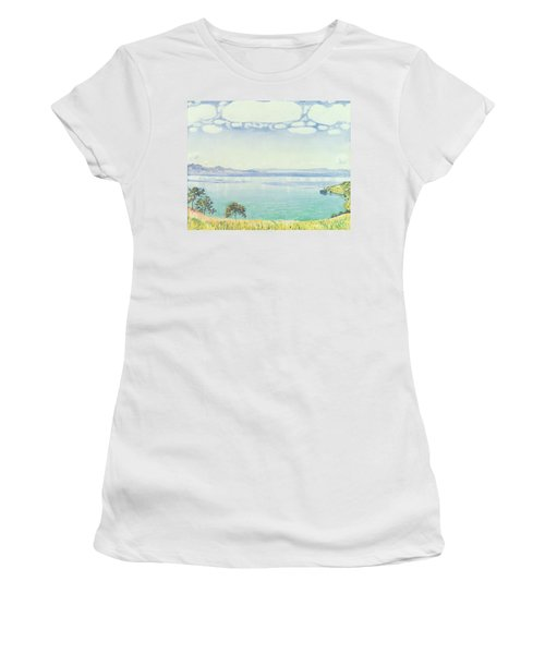 View Of Lake Leman From Chexbres Women's T-Shirt