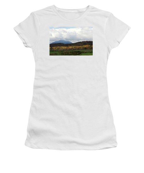 View Of Sharp Top In Blue Ridge Mountains Women's T-Shirt