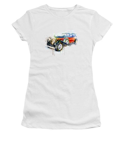 Vintage Automobile Women's T-Shirt