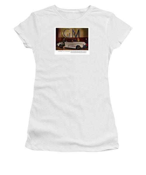 Vintage Car Ads Women's T-Shirt (Athletic Fit)