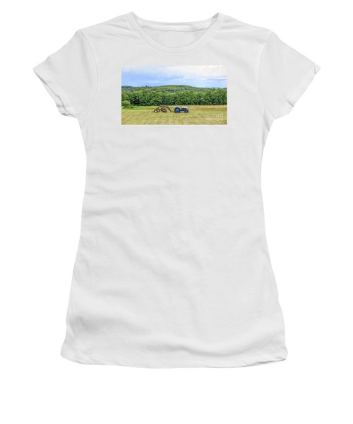 Vintage Ford Tractor Tilt Shift Women's T-Shirt