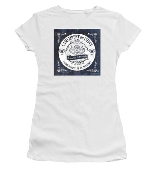 Vintage French Cheese Label 3 Women's T-Shirt