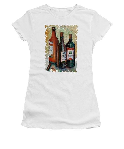 Vintage Georgian Wine Fresco Women's T-Shirt