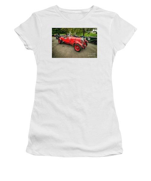 Women's T-Shirt (Junior Cut) featuring the photograph Vintage Motors by Adrian Evans