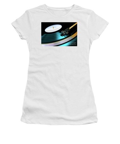 Vinyl Record Women's T-Shirt