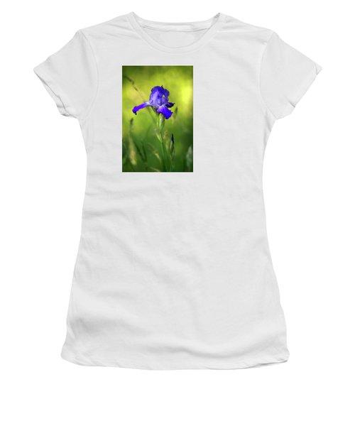 Violet Iris Women's T-Shirt (Athletic Fit)