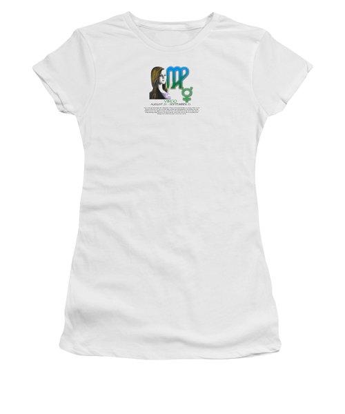 Virgo Sun Sign Women's T-Shirt (Athletic Fit)