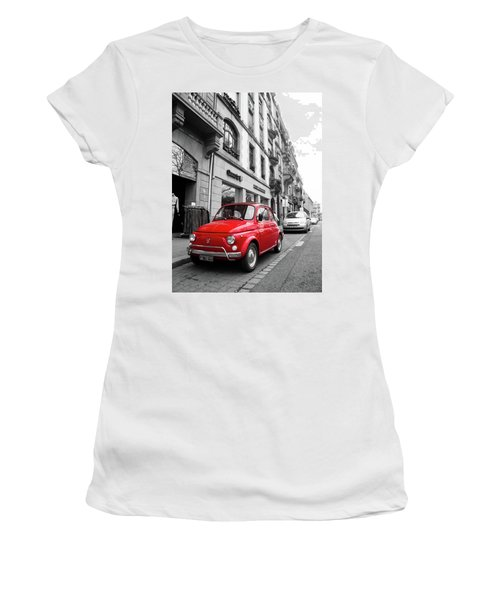 Voiture Rouge Women's T-Shirt (Athletic Fit)