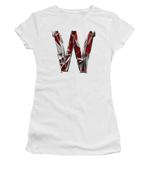 Women's T-Shirt featuring the photograph W Is For Whale by Gary Keesler