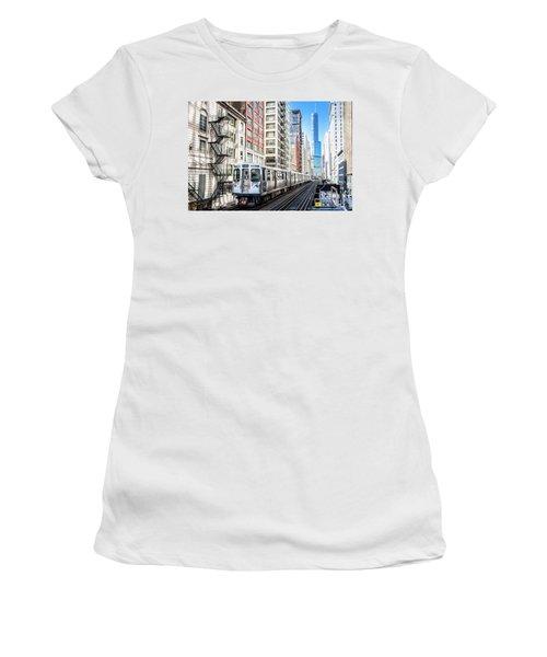 The Wabash L Train Women's T-Shirt