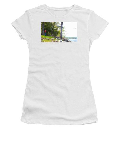 Waiting Ashore Women's T-Shirt
