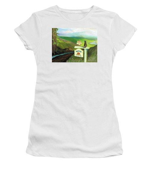 Waiting For Andy Women's T-Shirt (Athletic Fit)