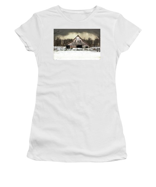 Waiting For The Storm To Pass Women's T-Shirt (Junior Cut) by Julie Hamilton
