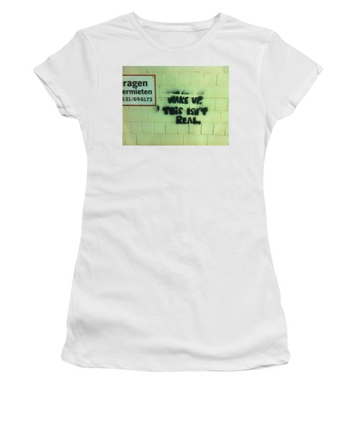 Women's T-Shirt (Junior Cut) featuring the photograph Wake Up by Christin Brodie