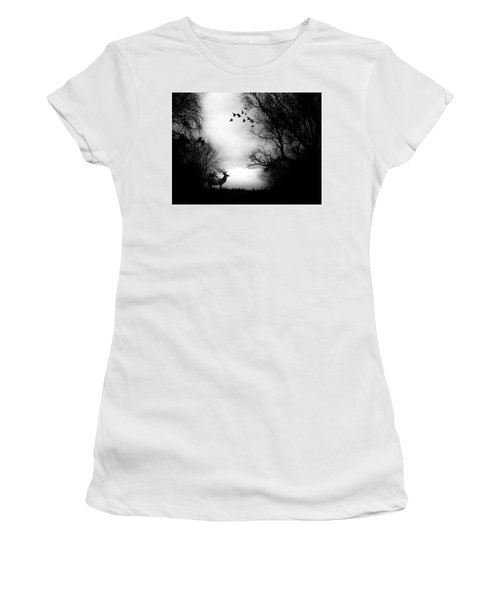 Waking From Winters Sleep Women's T-Shirt (Junior Cut) by Michele Carter