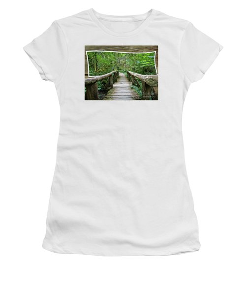 Walk Into My World Women's T-Shirt (Athletic Fit)
