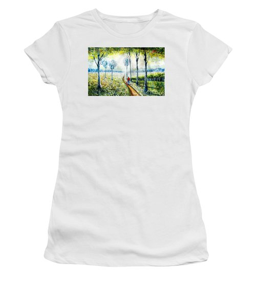 Walk Into The World Women's T-Shirt