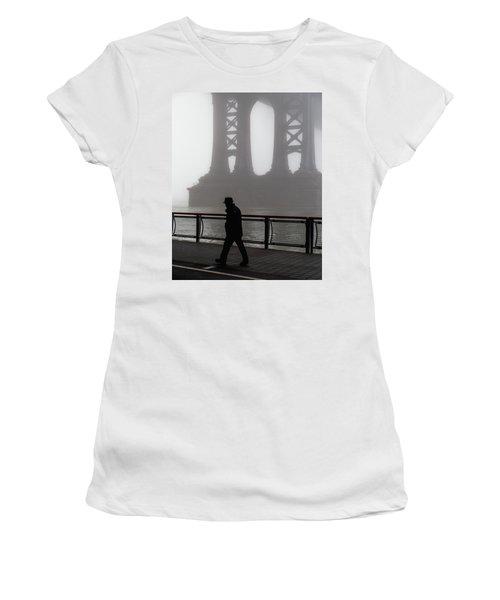 Walk Thru The Fog... Women's T-Shirt
