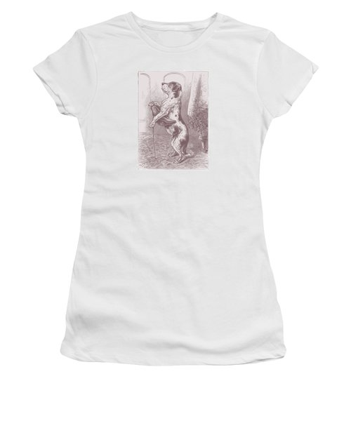 Walkies? Women's T-Shirt (Athletic Fit)