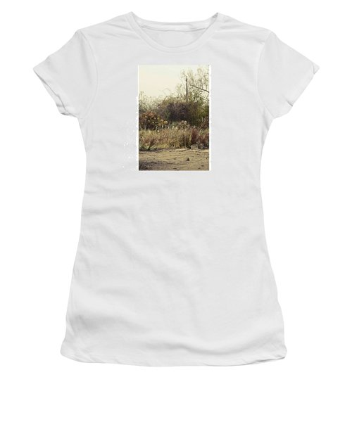 Walking By The Lake  #landscape #lake Women's T-Shirt (Athletic Fit)
