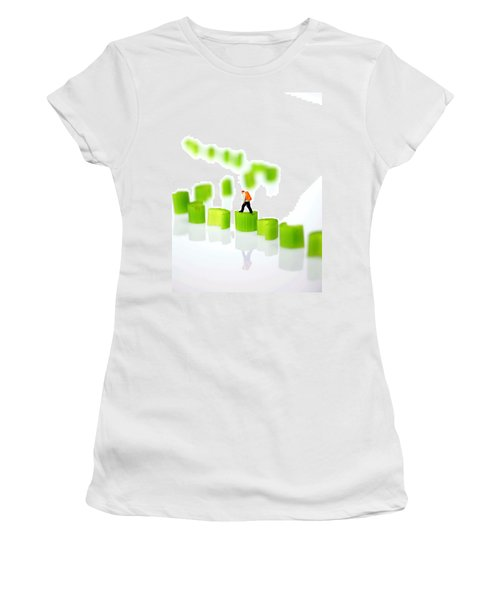 Walking On Celery  Women's T-Shirt (Athletic Fit)