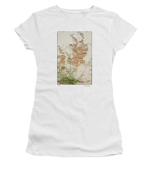 Wall Women's T-Shirt (Junior Cut) by R Thomas Berner
