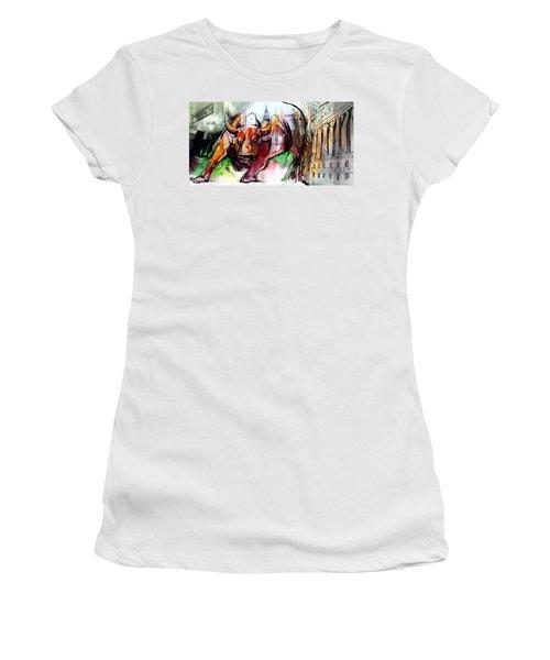 Wall Street New Money Women's T-Shirt
