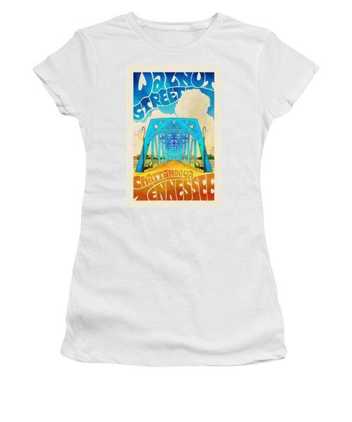 Walnut Street Poster Women's T-Shirt