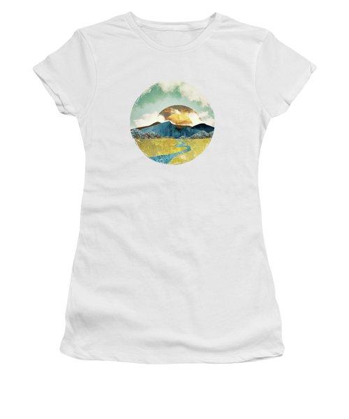 Wanderlust Women's T-Shirt (Junior Cut) by Katherine Smit