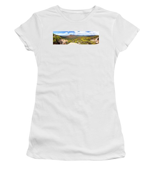 Wangara Hill Flinders Ranges South Australia Women's T-Shirt (Junior Cut) by Bill Robinson