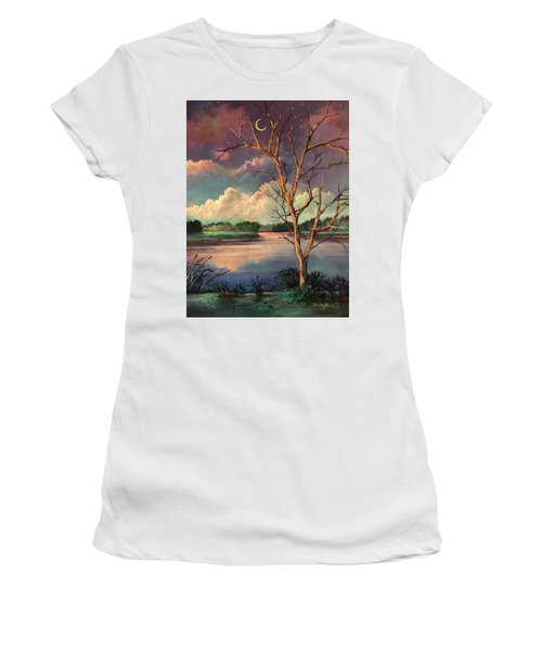 Was Like Stained Glass Women's T-Shirt (Athletic Fit)
