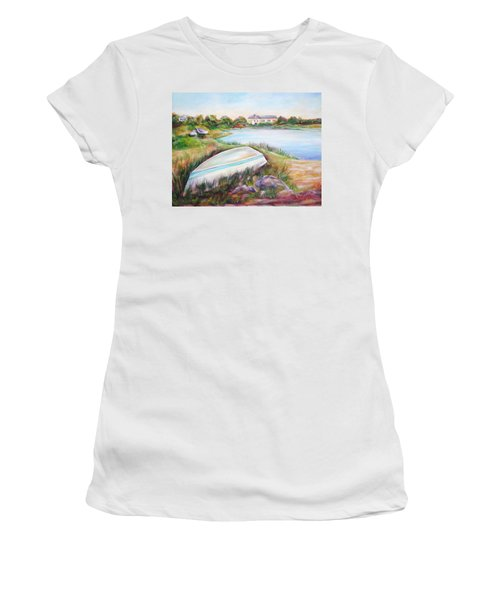 Washed Up Women's T-Shirt (Junior Cut) by Patricia Piffath