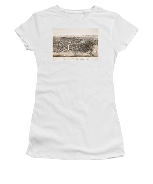 Washington D.c., 1892 Women's T-Shirt