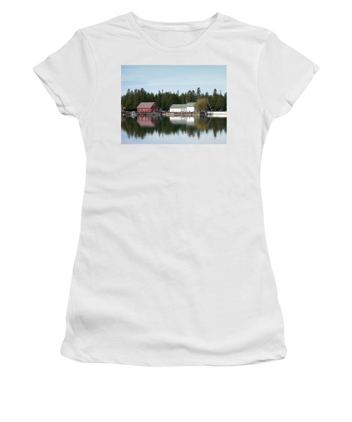 Washington Island Harbor 7 Women's T-Shirt