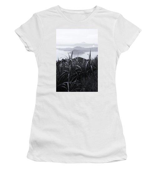 Watch Over Women's T-Shirt (Junior Cut) by Jez C Self