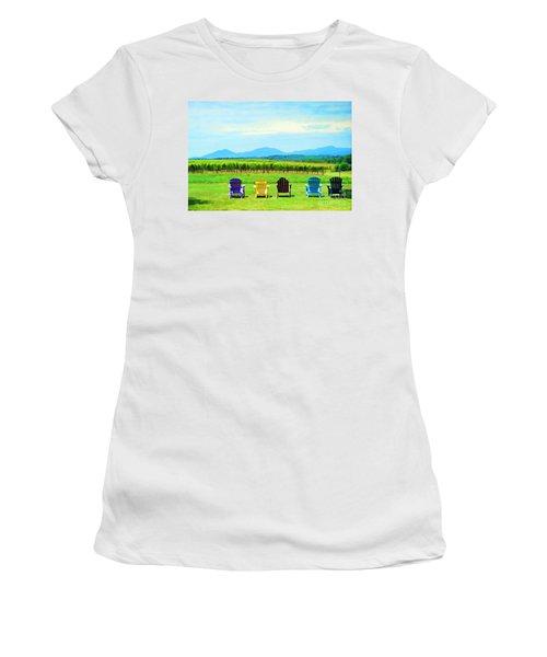 Watching The Grapes Grow Women's T-Shirt