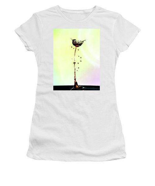 Water Drop #9 Women's T-Shirt (Athletic Fit)