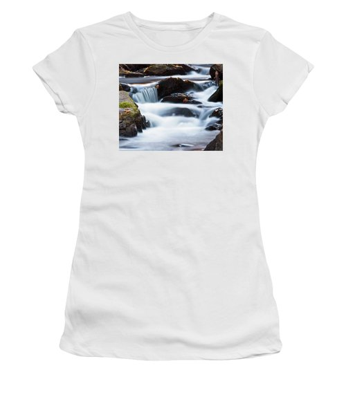 Water Like Mist Women's T-Shirt (Athletic Fit)