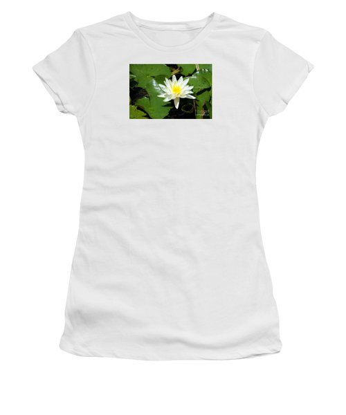 Water Lily 7 Women's T-Shirt (Athletic Fit)