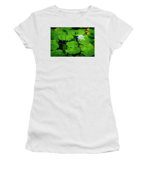 Women's T-Shirt (Junior Cut) featuring the photograph Water Logged by Ryan Manuel
