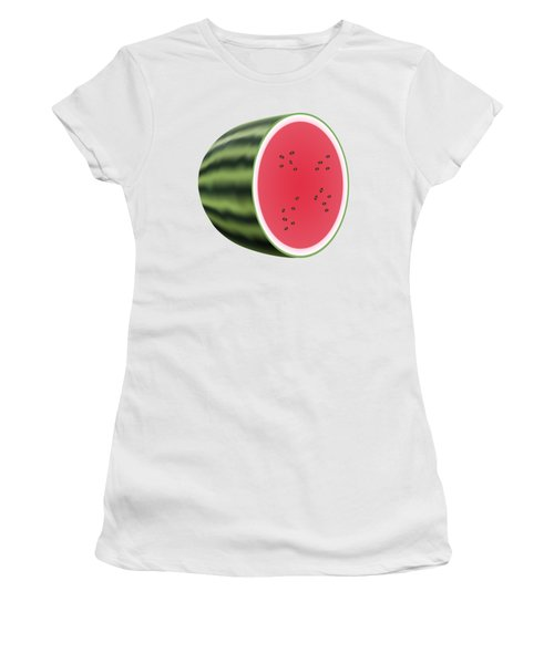 Water Melon Women's T-Shirt (Athletic Fit)